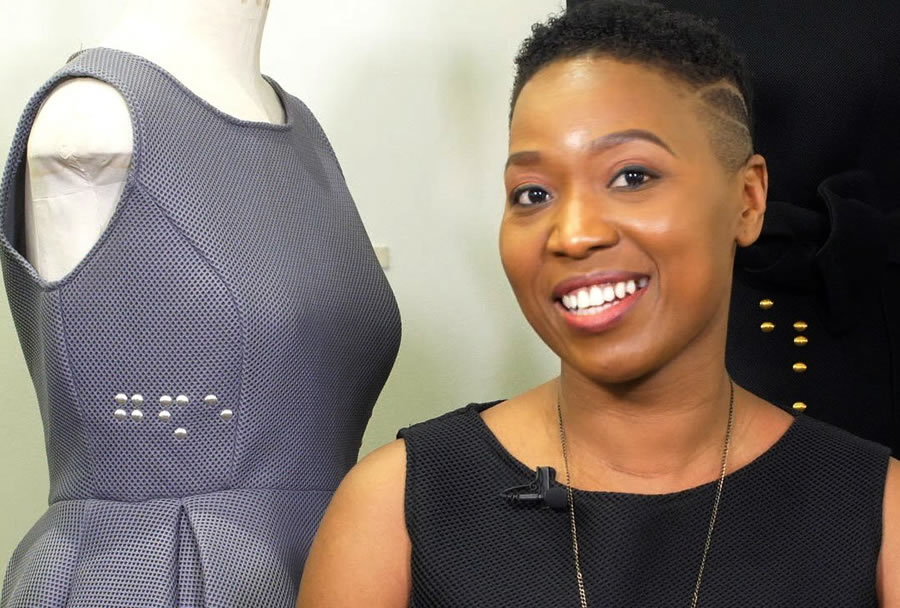 Meet Tapiwa Dingwiza A Zimbabwean Fashion Designer Inspiring The Visually Impaired